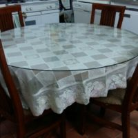 SELLING DINING TABLE + 4 CHAIRS AND DINING BUFFET